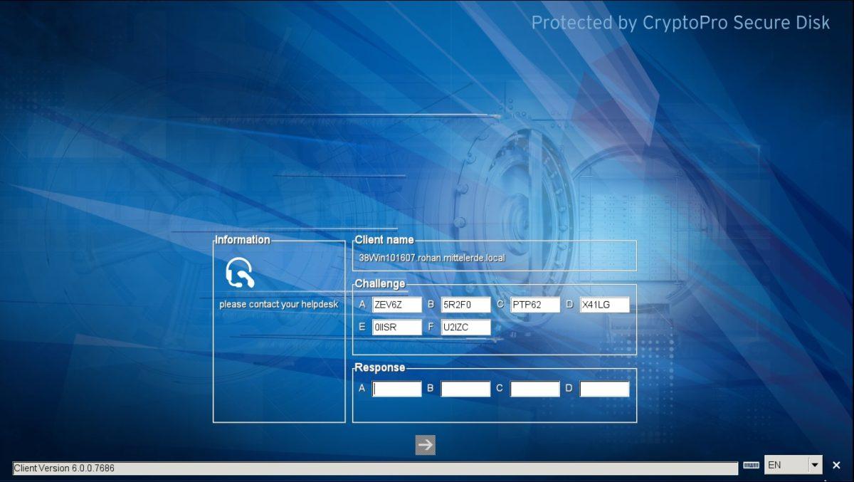 Secure Disk for BitLocker Online and Offline Helpdesk
